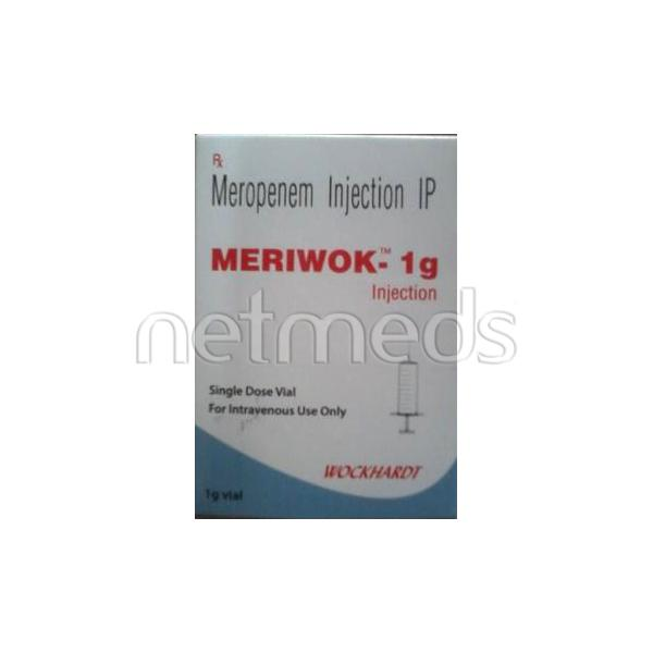Meriwok 1000mg Injection 1'S