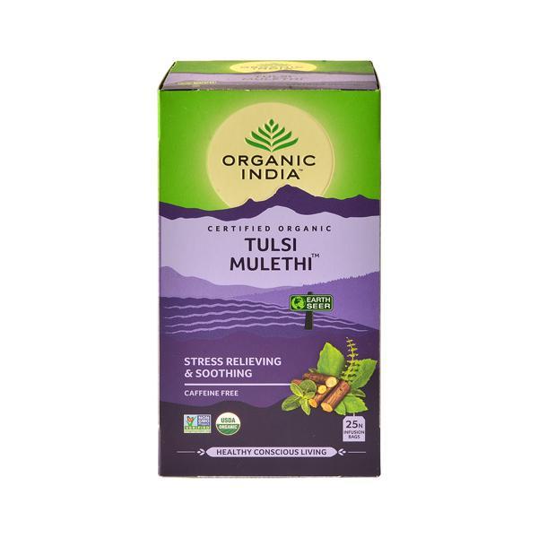 Organic India Tulsi Mulethi Tea Bag 25's