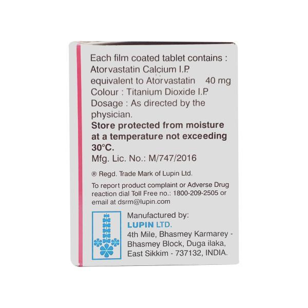 Tonact 40mg Tablet 15'S