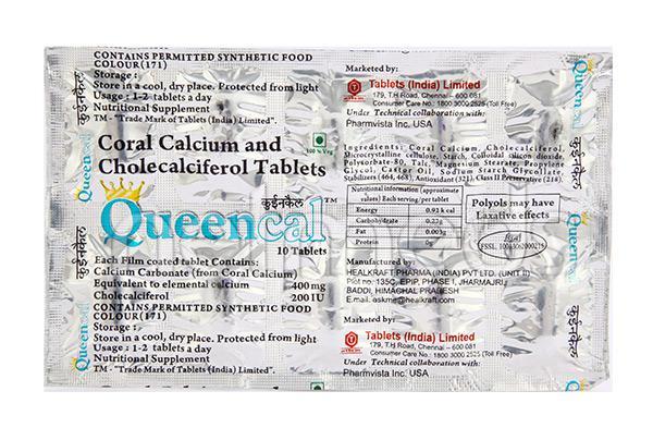 Queencal Tablet 10'S
