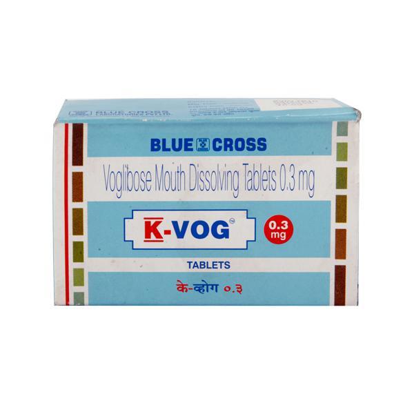 K Vog 0.3mg Tablet 15'S