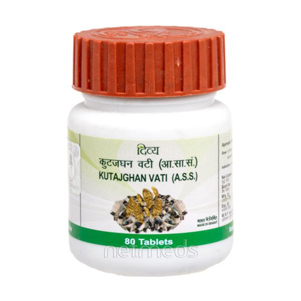 Patanjali Kutajghan Vati Tablet 80's