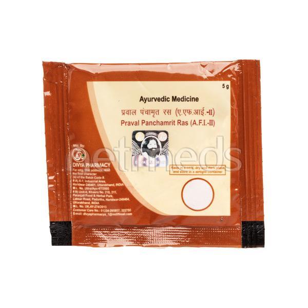 Patanjali Praval Panchamrit Ras Powder 5 gm