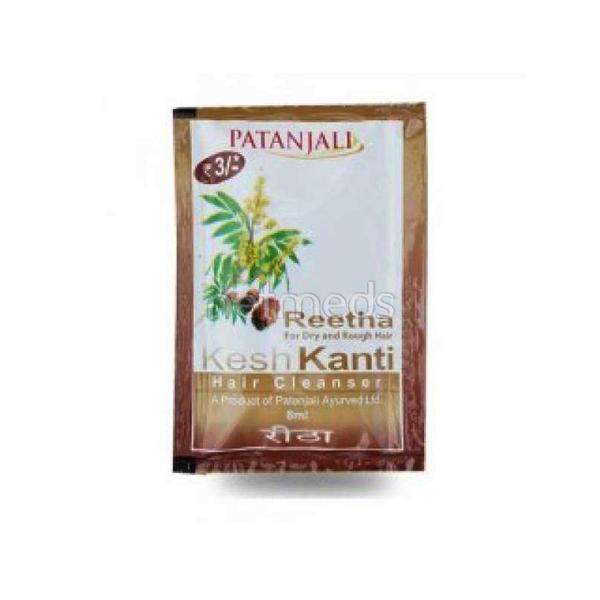 Patanjali Kesh Kanti Hair Cleanser - Reetha 8 ml