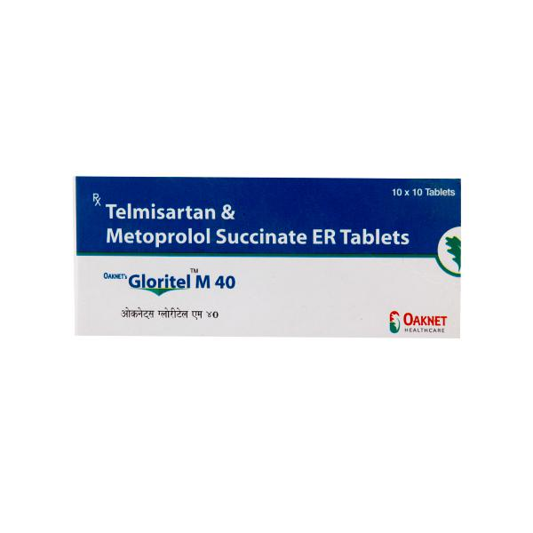 Gloritel M 40/25mg Tablet 10'S