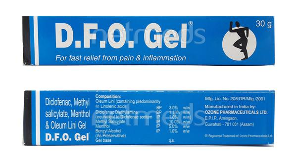 DFO Gel 30gm