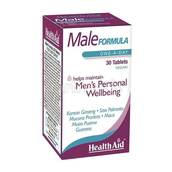 HealthAid Male Formula Tablet 30's