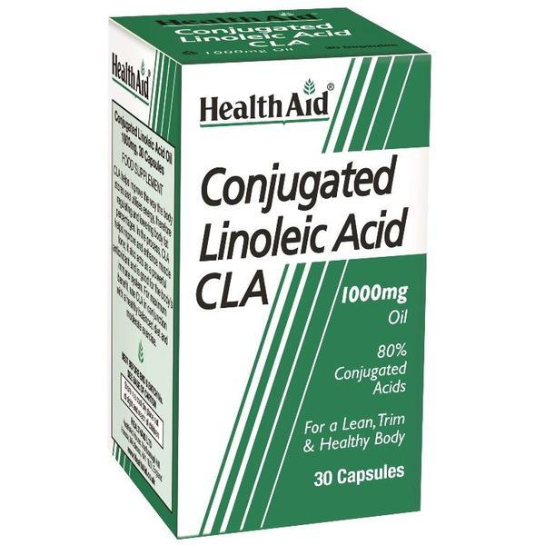 HealthAid Conjugated Linoleic Acid 1000 mg Capsule 30's