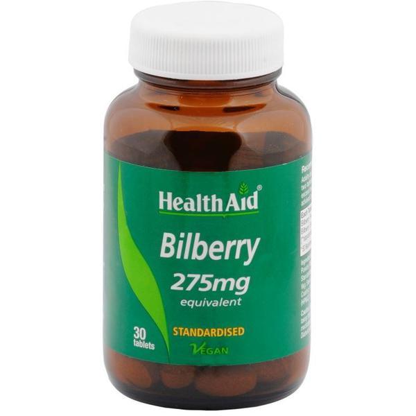 HealthAid Bilberry 275 mg Tablet 30's