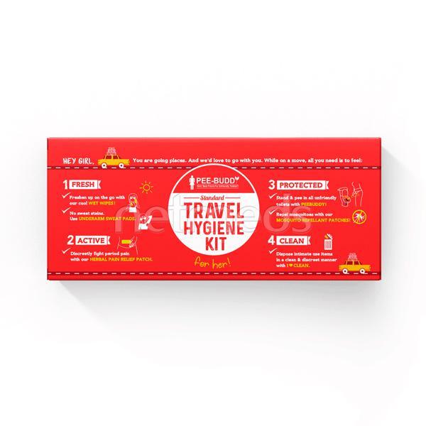 Peebuddy Standard Travel Hygiene Kit for Her