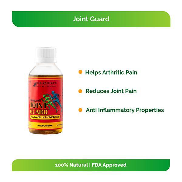 Dr.Vaidya's Nirgundi Joint Guard Oil 100 ml