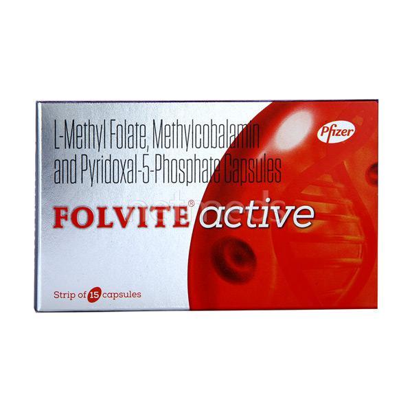 Folvite Active Capsule 15'S