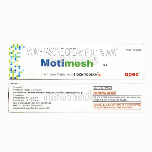 Motimesh 0.1%W/W Cream 15gm
