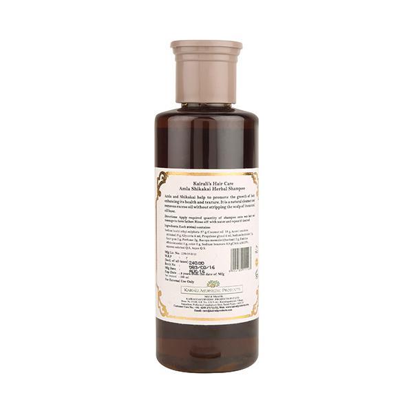 Kairali Herbal Shampoo - Amla Shikakai 200 ml