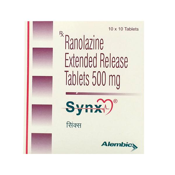 Synx 500mg Tablet 10'S