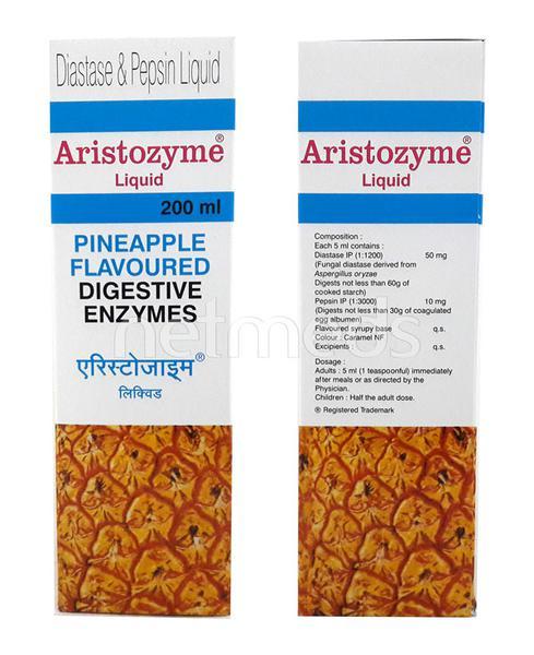 Aristozyme PINEAPPLE FLAVOURED Liquid 200ml