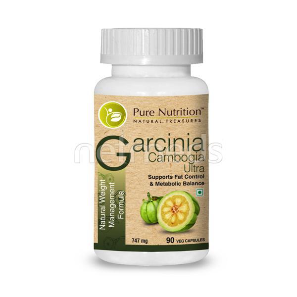 Pure Nutrition Garcinia Cambogia Ultra Veg Capsules 90's
