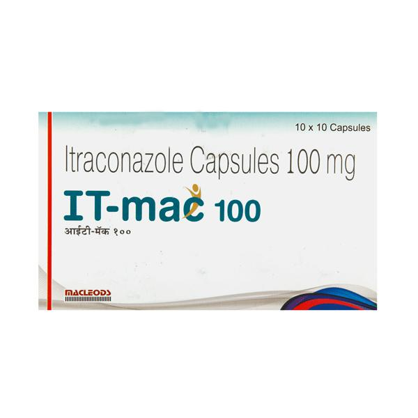 IT Mac 100mg Capsule 10'S - Buy Medicines online at Best Price from  Netmeds.com