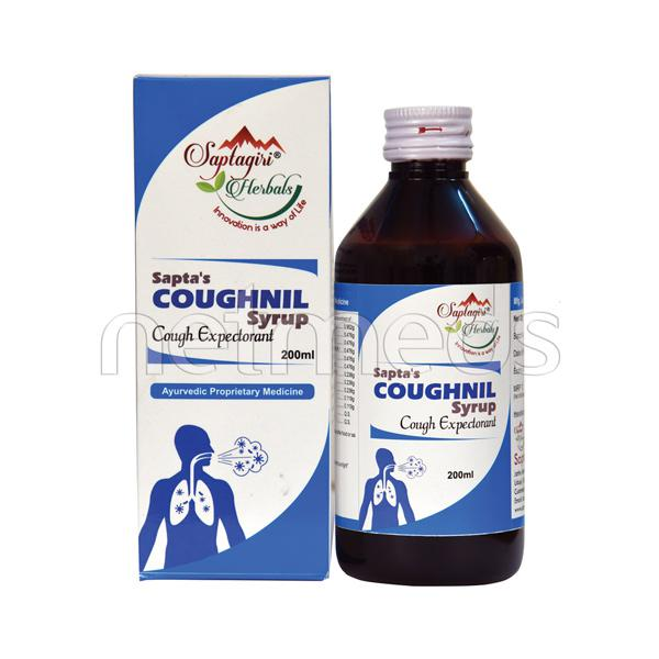 Saptagiri Herbals Cough Nil Syrup 100 ml