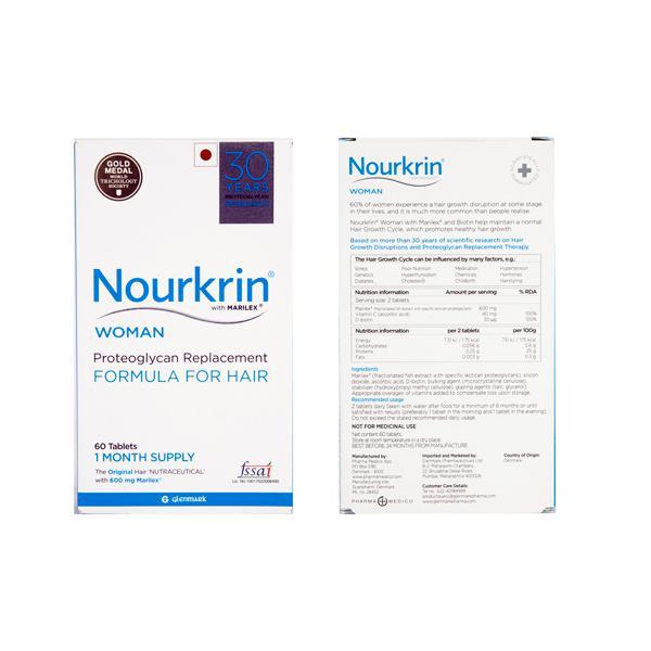 Nourkrin Woman Tablet 2X30'S