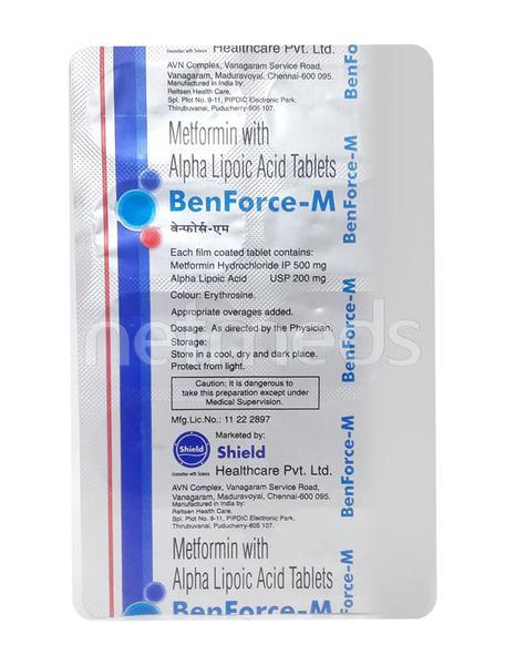Benforce M Tablet 10'S