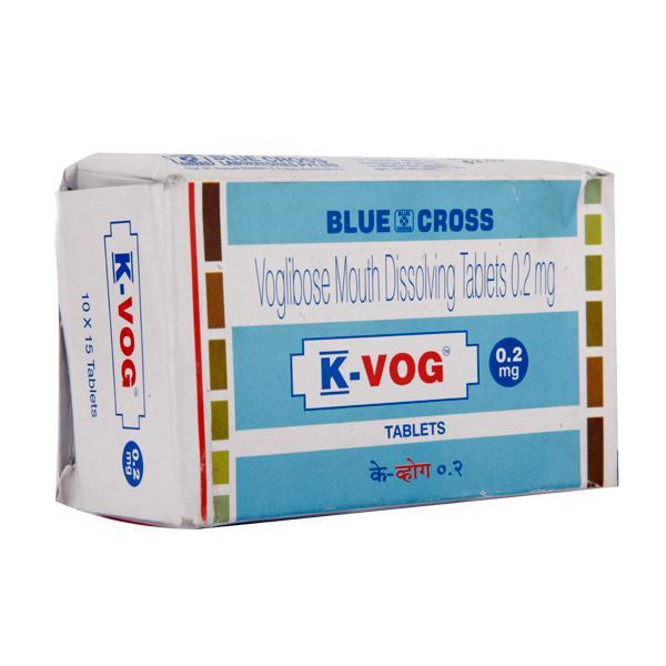 K Vog 0.2mg Tablet 15'S
