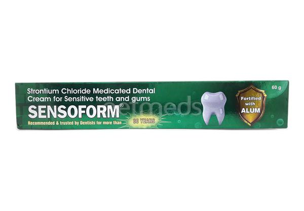 Sensoform Dental Cream 60gm