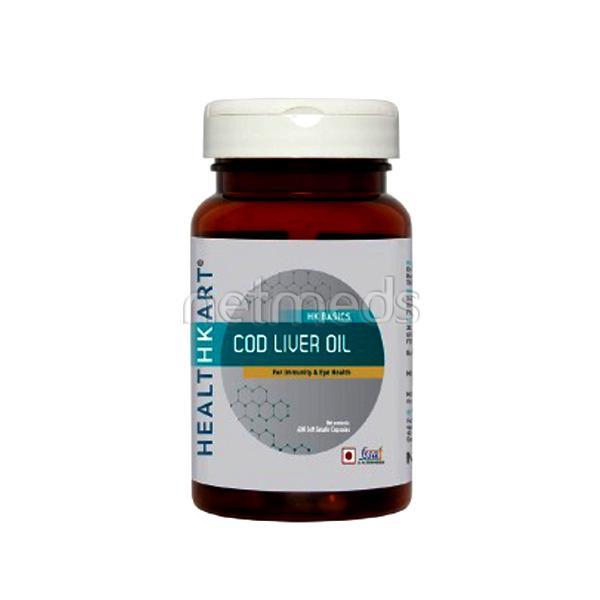 HealthKart Cod Liver Oil Capsules 60's