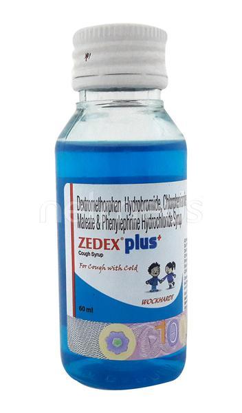 Zedex Plus Syrup 60ml