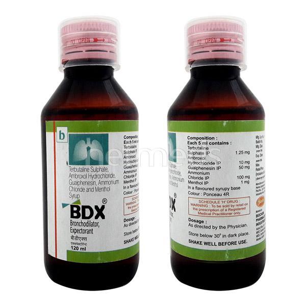 BDX Expectorant 120ml
