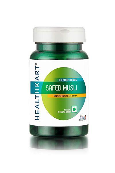 HealthKart Safed Musli Capsules 60's
