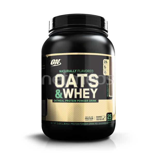 Optimum Nutrition (On) 100% Natural Oats & Whey Milk Chocolate 3Lb