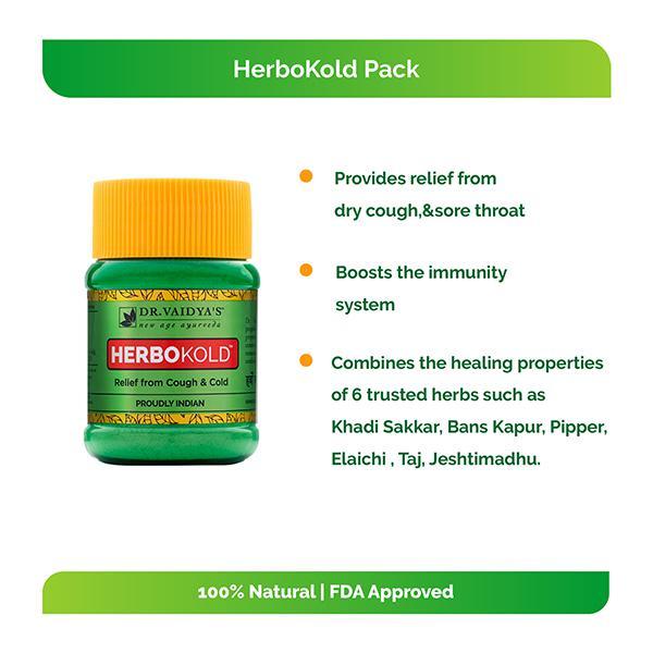 Dr.Vaidya's Herbokold Powder 50 gm