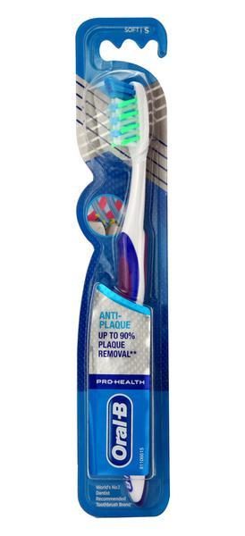 Oral B Pro Health Anti Plaque Crisscross Soft Toothbrush