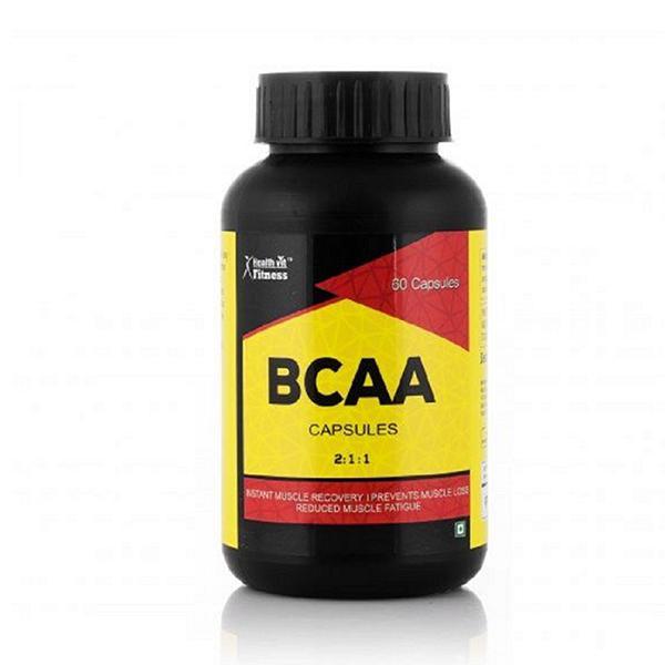 HealthVit Fitness BCAA Capsules 60's