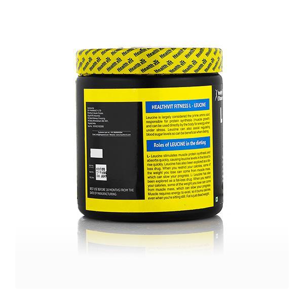 HealthVit Fitness L-Leucine Powder 100 gm