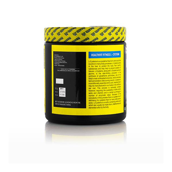 HealthVit Fitness L-Lysine Powder 100 gm