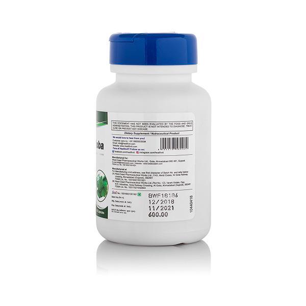 HealthVit Gin kgo Biloba 60 mg Capsules 60's