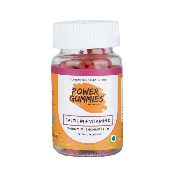 Power Gummies Kids (Calcium + Vitamin D) 30's