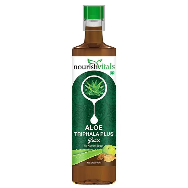 NourishVitals Aloe Vera Triphala Plus Juice 500 ml