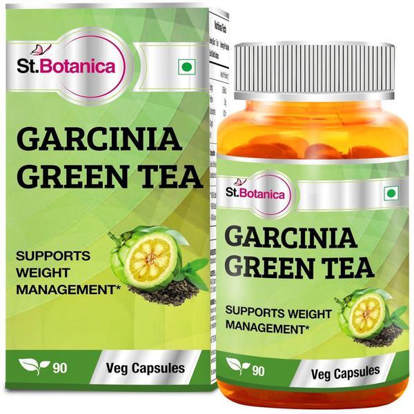 St.Botanica Garcinia Green Tea Veg Capsules 90's