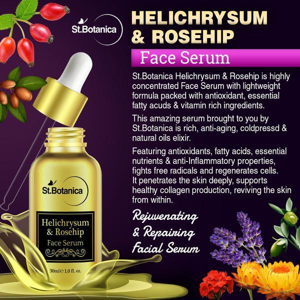 St.Botanica Helichrysum & Rosehip Face Serum 30 ml