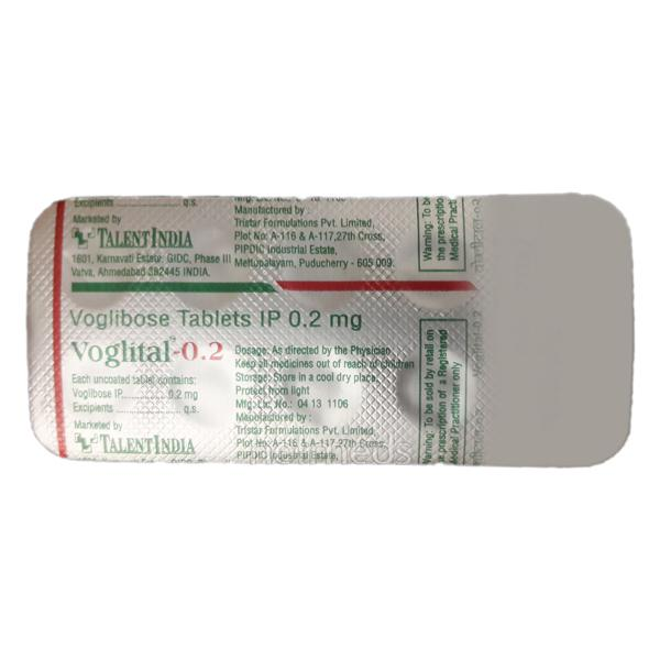 Voglital 0.2mg Tablet 10'S