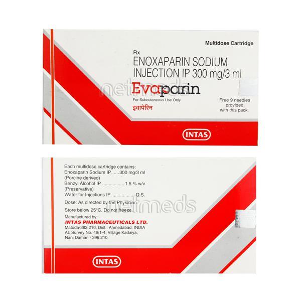 Evaparin 300mg Injection 3ml