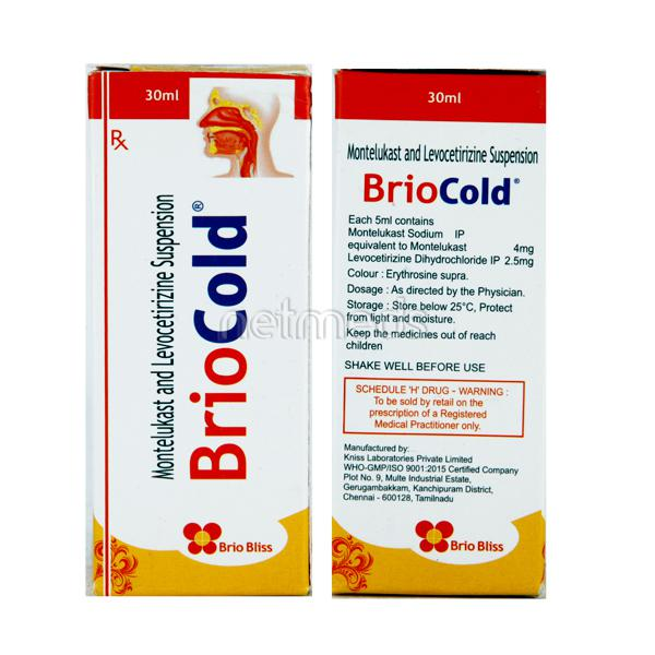 Briocold 4/2.5mg Suspension 30ml