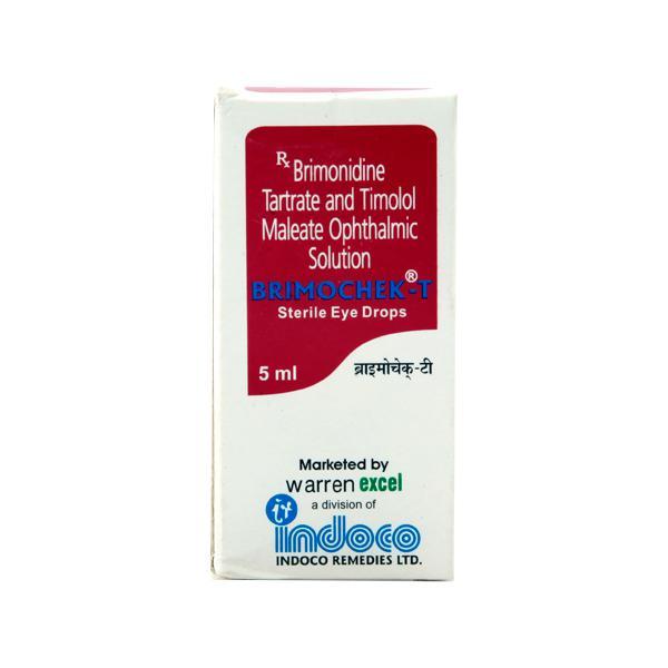 Brimochek T Eye Drops 5ml