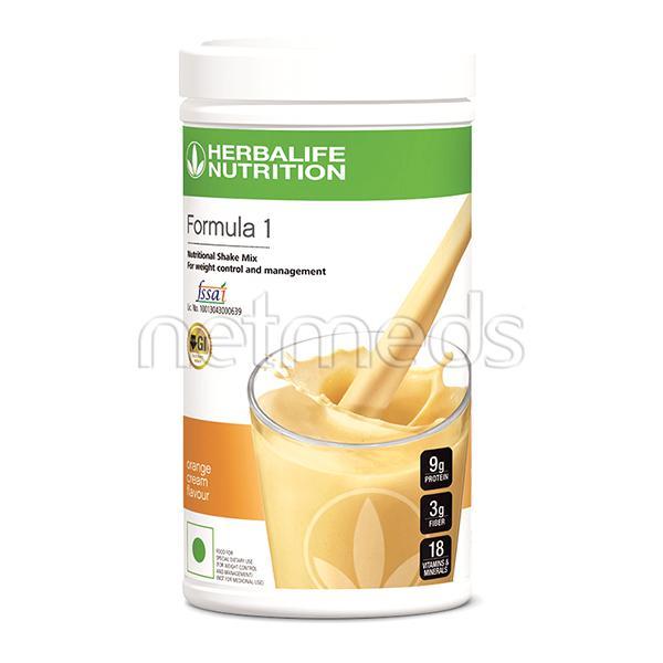 Herbalife Formula 1- Nutritional Shake Powder - Orange Cream 500Gm