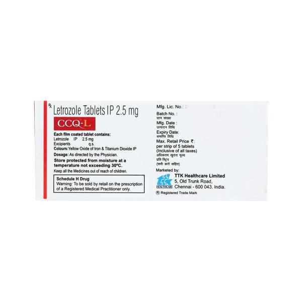 CCQ L 2.5mg Tablet 5'S