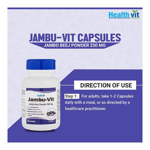 HealthVit Jambu-Vit 250 mg Capsule 60's