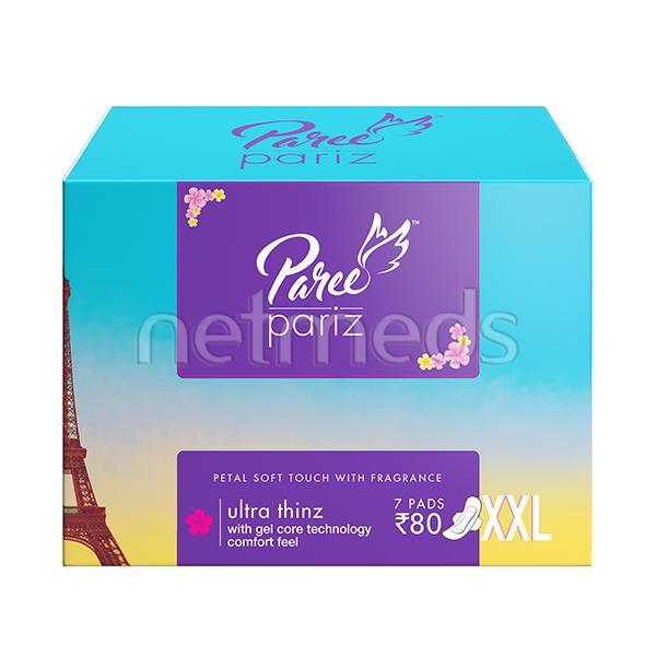 Paree Pariz Ultra Thinz (XXL) Sanitary Pads 7's